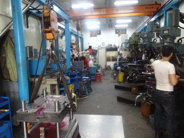 塑膠模具廠現況1