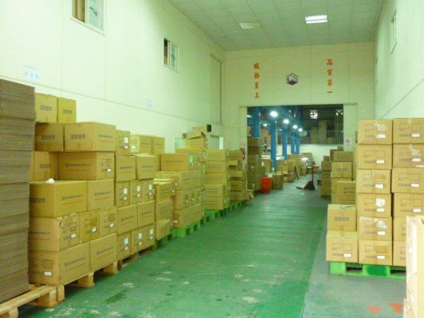 塑膠射出廠現況-3進出貨區